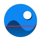 iPhone、iPadアプリ「潮汐なび」のアイコン