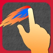 iPhone、iPadアプリ「最速フリック」のアイコン