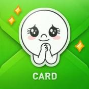 iPhone、iPadアプリ「LINE Greeting Card」のアイコン