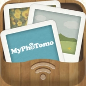 iPhone、iPadアプリ「MyPhoTomo(マイフォトモ)」のアイコン
