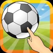 iPhone、iPadアプリ「指先リフティング」のアイコン