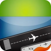 iPhone、iPadアプリ「空港 フライトトラッカー 到着と出発 レーダー」のアイコン