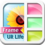 iPhone、iPadアプリ「FrameUrLife - フォトフレーム & 写真に効果 & 写真フレーム 無料」のアイコン