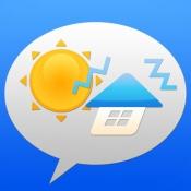 iPhone、iPadアプリ「天気&防災アラート」のアイコン