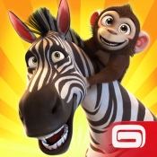 iPhone、iPadアプリ「ワンダーZOO~動物&恐竜レスキュー~」のアイコン
