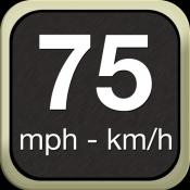 iPhone、iPadアプリ「スピードメーター」のアイコン