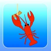 iPhone、iPadアプリ「ザリガニつり」のアイコン