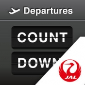 iPhone、iPadアプリ「JAL Countdown」のアイコン