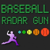 iPhone、iPadアプリ「Baseball Radar Gun High Heat」のアイコン