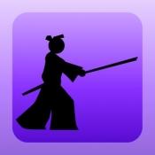 iPhone、iPadアプリ「間合いサムライ」のアイコン