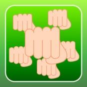 iPhone、iPadアプリ「百烈パンチ」のアイコン