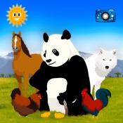 iPhone、iPadアプリ「みんな見つけて:動物を探して」のアイコン