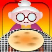 iPhone、iPadアプリ「おせんべ焼くんべ【簡単!面白い!子供も楽しい新作無料ゲーム】」のアイコン
