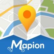 iPhone、iPadアプリ「地図マピオン/旅行先で迷わない地図アプリ」のアイコン