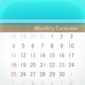 iPhone、iPadアプリ「月特化カレンダー Moca」のアイコン