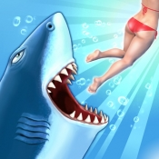 iPhone、iPadアプリ「Hungry Shark Evolution」のアイコン