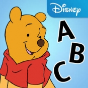 iPhone、iPadアプリ「Letters with Pooh」のアイコン