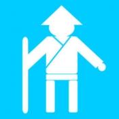 iPhone、iPadアプリ「お遍路巡り -四国八十八カ所巡りのナビゲーター-」のアイコン