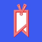 iPhone、iPadアプリ「漫画の栞(しおり)」のアイコン