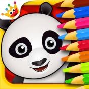 iPhone、iPadアプリ「ペット:ぬりえ動物、子供のためのゲーム 赤ちゃん - 無料」のアイコン
