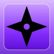 iPhone、iPadアプリ「手裏剣忍法帖」のアイコン