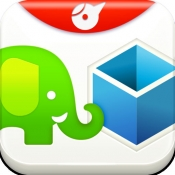 iPhone、iPadアプリ「Ever2Drop - FileCrane for Evernote and Dropbox」のアイコン