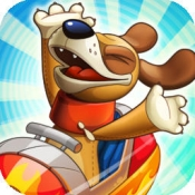 iPhone、iPadアプリ「Nutty Fluffies Rollercoaster」のアイコン