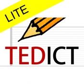 iPhone、iPadアプリ「TEDICT LITE」のアイコン