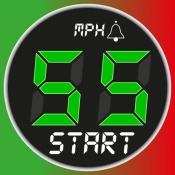 iPhone、iPadアプリ「スピードメーター 55 Start。GPS 速度計+HUD」のアイコン