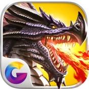 iPhone、iPadアプリ「ドラゴンズ オブ アトランティス」のアイコン