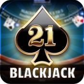 iPhone、iPadアプリ「ブラックジャック21:オンラインカジノのカードゲーム」のアイコン
