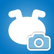 iPhone、iPadアプリ「いぬのきもちカメラ」のアイコン