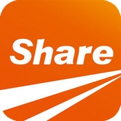 iPhone、iPadアプリ「ez Share Wi-Fi SD」のアイコン
