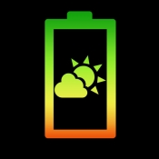 iPhone、iPadアプリ「電池予報 RealTime 2 - バッテリー充電と寿命管理」のアイコン