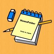 iPhone、iPadアプリ「MemoFolder」のアイコン