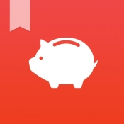 iPhone、iPadアプリ「らくな家計簿 (+PC家計簿)」のアイコン