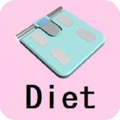 iPhone、iPadアプリ「健康ダイエット」のアイコン