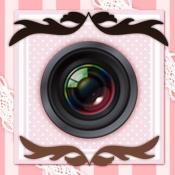 iPhone、iPadアプリ「DecoBlend-コラージュやデコの写真加工アプリ!」のアイコン