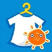 iPhone、iPadアプリ「天気予報アプリ:洗濯予報 - 週間天気予報から洗濯指数まで無料でお伝え。」のアイコン