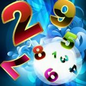 iPhone、iPadアプリ「脳トレ早押し数字ゲームで集中力アップ!記憶力も向上!~ひらめき!おもしろパズル&無料ゲームシリーズ~」のアイコン