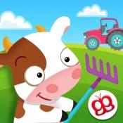 iPhone、iPadアプリ「ハッピーリトルファーマー 子供の農場」のアイコン