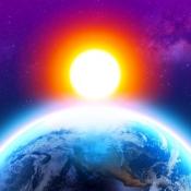 iPhone、iPadアプリ「3D地球天気ウィジェット」のアイコン