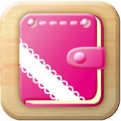 iPhone、iPadアプリ「女性のリズム手帳」のアイコン