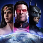 iPhone、iPadアプリ「Injustice: Gods Among Us」のアイコン