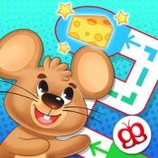 iPhone、iPadアプリ「キッズめいろ 123 Pocket - 子供のための」のアイコン