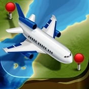 iPhone、iPadアプリ「Airline Flight  フライト状況追跡・到着便案内」のアイコン