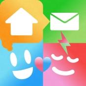 iPhone、iPadアプリ「ここだよ ― 出発、到着でメールを自動送信」のアイコン