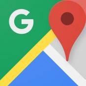 iPhone、iPadアプリ「Google マップ -  乗換案内 & グルメ」のアイコン