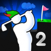 iPhone、iPadアプリ「Super Stickman Golf 2」のアイコン