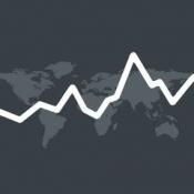 iPhone、iPadアプリ「世界の株価 for iPad」のアイコン